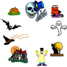 Halloween Clip Art | Halloween clipart from Roxy's Renditions Halloween Holiday Graphic ...