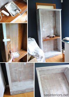How To Paint Laminate Furniture (Without Sanding!)   Furniture Make Overs |  Pinterest