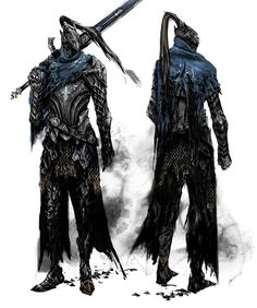 Another Dark Souls pic. Knight Artorias this time. His dark, tragic story inspired Damnael and Vael's story, and his armour is the inspiration of the armour they wear Sif Dark Souls, Dark Souls Artorias, Dark Souls Armor, Dark Fantasy, Fantasy Armor, Dark Souls Characters, Fantasy Characters, Soul Saga, Character Art