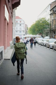 a redhead backpacker by ines perkovic via flickr follow my 365 days project adventure b l o g l i f e s t y l e blog frequently updated