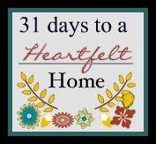 #31 days to a heartfelt home