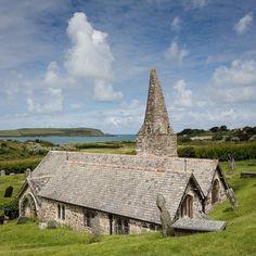 St Enodocs Church resting place of John Betjeman Trebetherick Cornwall. #ukcoastwalk Photo: Quintin Lake www.theperimeter.uk