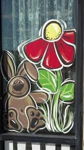 Image result for early spring window painting