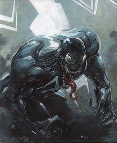 Venom by Clayton Crain Comic Art