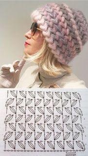 46 Patrones, Punto Puff en crochet (Puff Stitcho Crochet) Knitting For BeginnersKnitting HumorCrochet BlanketCrochet Bag Bonnet Crochet, Crochet Cap, Crochet Beanie, Love Crochet, Knitted Hats, Crochet Ideas, Crochet Stitches Patterns, Knitting Patterns, Diy Scarf
