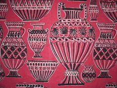 50's fabric neo-classical