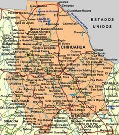 Chihuahua, Mexico. The Mexican state I am from. :)
