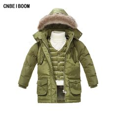 c75b77286 Cheap winter children, Buy Quality boys duck down jacket directly from  China baby white jacket Suppliers: 2016 Winter Children Warm Thick Snow  Proof Coat ...