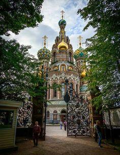 Church of Savior on Spilled Blood, Saint Petersburg, Russia