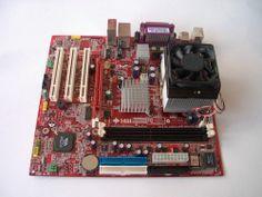 MSI KM4M Motherboard MS-6734 plus AMD Athlon XP 2400+ CPU HeatSink Fan Combo