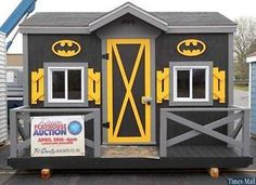 To the bat shed Robin!!
