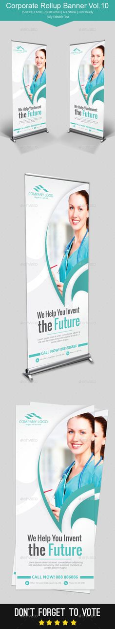 Corporate Rollup Banner Vol.10