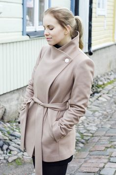 found a perfect wool coat from ted baker <3 #lovedahelsinki #tedbaker #ootd #outfit #style #FW
