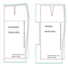 Ropa a tu medida: Diferentes ajustes para faldas tipo sastre