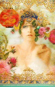 The Summer Queen by Foxfires.deviantart.com on @deviantART