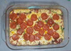 Pizza harina de almendras Homemade Chicken Alfredo, Chicken Alfredo Pizza, Homemade Calzone, Calzone Recipe, Taco Pizza Recipes, Keto Recipes, Healthy Recipes, Diabetic Deserts, Cherry Tomato Sauce