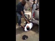 NYPD Officer Knocks Teenager Out for Smoking a Cigarette.