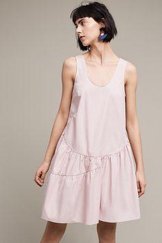 Blushed Poplin Swing Dress | Anthropologie