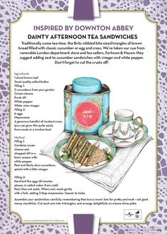 Afternoon Tea – Downton Abbey-style   Madison