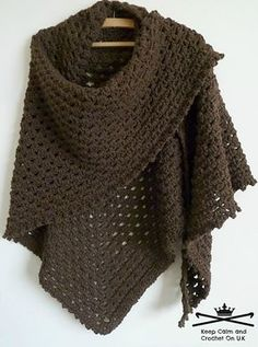 This healing/prayer shawl has been designed as a free pattern so others can make a hug for someone in need; however if you would like to pass on the couple of pounds/dollars you would have paid for this pattern to Cancer Research then that would make you even more awesome!