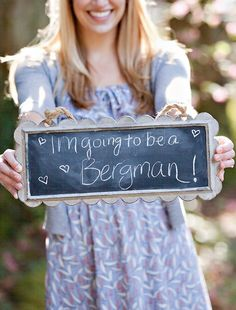 Chalkboards are a fun trend right now so use one to express your love in your engagement session.