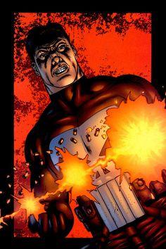 Punisher by Steve Dillon Daredevil Series, Steve Dillon, Punisher Marvel, Castle, Batman, Cosplay, Superhero, Comics, Fictional Characters