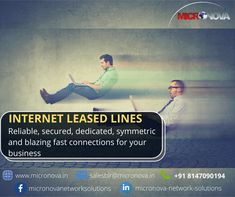 """Micronova is now class """"A"""" ISP from Bangalore. Offering you the fastest internet connectivity through RF (Radio Frequency) and Optic Fiber last mile connectivity at a competitive price. Having PAN India presence to provide enterprise internet Leased Line services through """"Trust & Dependability"""". We are here for you! For enquiries, reach us at salesblr@micronova.in or you can also contact us on +91 8147090194 #Internetleasedlines #ITdepartment #ITservices #networksolutions #startups… Fastest Internet, Service Level Agreement, Internet Network, Home Internet, Data Transmission, Network Solutions, Radio Frequency, Startups, Connection"""