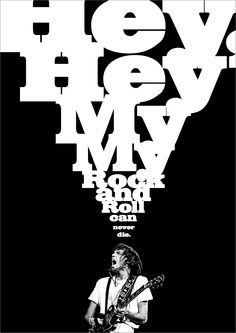 My tribute poster to the man. Keep it burning Mr. Neil Young.