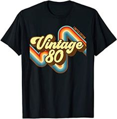39th Birthday Vintage 80 limited edition born in 1980 funny T-Shirt