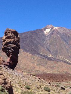 El Teide! La montaña más alta de España....en Tenerife!
