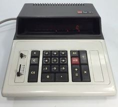 Sharp Compet CS 126 Calculator '73 Gas Discharge Display 8/10 Collectable  Calc