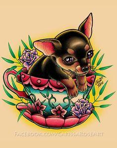 12+ Amazing Teacup Tattoo Designs