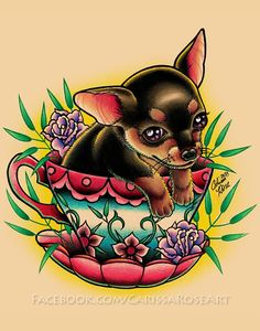 12+ Amazing Teacup Tattoo Designs