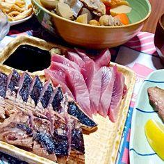 スマを頂いたので魚料理追加(๑ˇεˇ๑)•*¨*•.¸¸♪ - 44件のもぐもぐ - 晩御飯 by yukimaru218
