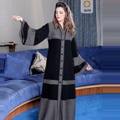 Abaya Fashion, Muslim Fashion, Women's Fashion Dresses, Abaya Designs Dubai, Muslim Gown, Hijab Style Dress, Modele Hijab, Hijab Trends, Mode Abaya