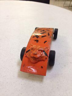 Pinewood derby Tiger car