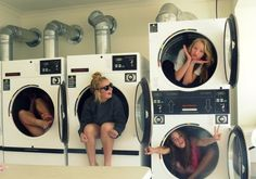 I'd do this with my roommates if our washers and dryers weren't so horrible