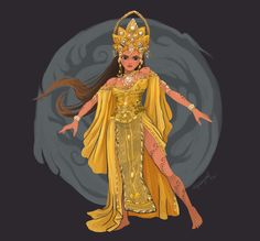 Burigadang Pada Sinaklang Bulawan - the goddess of greediness and vengeance. In the series (Indio), she will avenge the death of her only brother (Paiburong) who was killed by Simeon (Malaya) and will make his goal of defending the natives from the. Philippine Mythology, Philippine Art, Filipino Art, Filipino Culture, Mythological Creatures, Mythical Creatures, Philippines Culture, Legends And Myths, Sacred Feminine