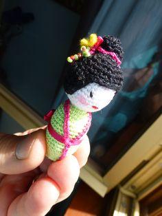 kokeshiamigurumi,uncinetto,crochet https://www.facebook.com/lecreazionidiheidi?ref=stream