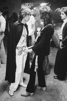 Mick Jagger & Keith Richards, 1973