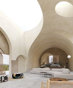 Istanbul and New York based architecture practice, GAD lead by Gokhan Avcioglu revealed plans for a hotel in ancient Cappadocia in Turkey. Classic Architecture, Organic Architecture, Architecture Design, Parametric Architecture, Parametric Design, Ecology Design, Capadocia, Underground Cities, Architectural Section