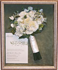 12x15 Bouquet likeness with invitation. www.jenniferannedesigns.com