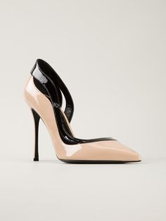 SERGIO ROSSI - bi-colour pumps 6