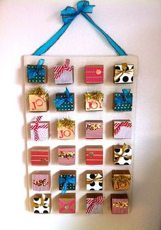Great list of advent calendar ideas (to use for Hanukkah or birthday countdown?)