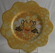 Bubble Technique = Honeycomb ! Cute idea