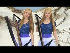 EVERY BREATH YOU TAKE (The Police) Harp Twins - Camille and Kennerly - YouTube