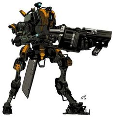 Titanfall: Ronin Militia by teamwreckloose