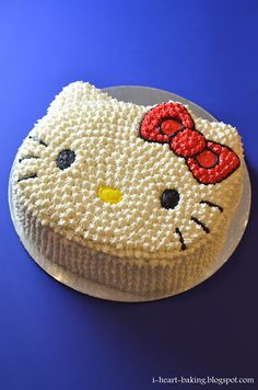 i heart baking!: hello kitty cake
