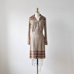 vintage 60s 70s mod checker print novelty dress by RockAndRollVintage, $64.00