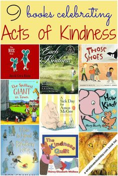 Books that celebrate acts of kindness ~ Always in season!  (Free suggestions.)